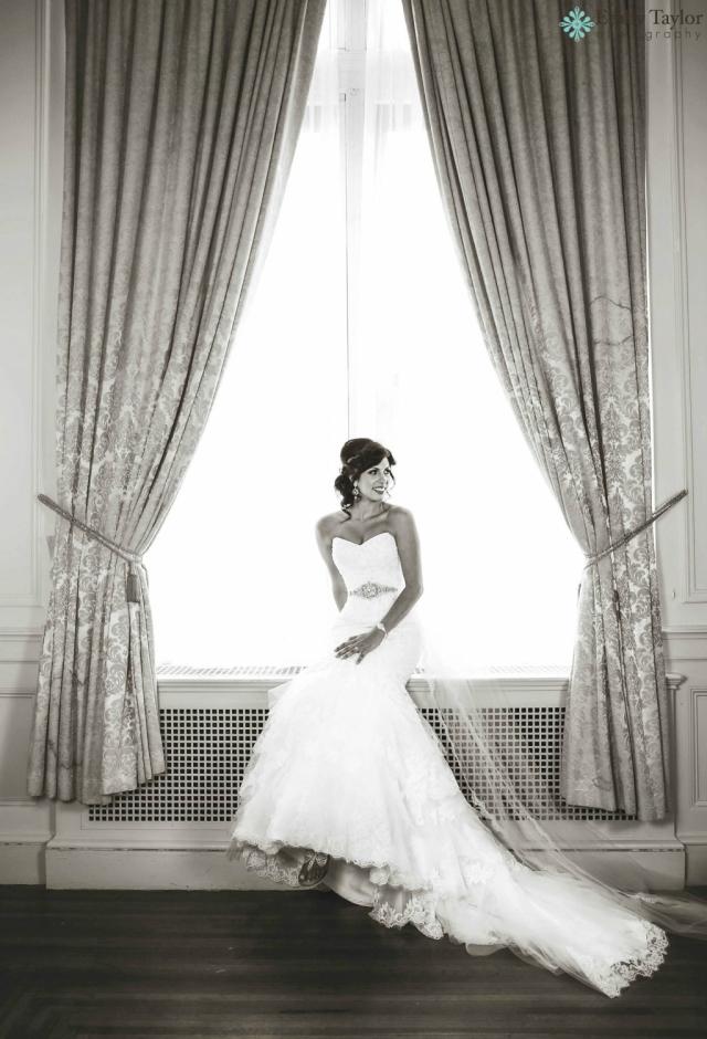 crystal and pearl bridal sash